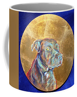 Coffee Mug featuring the painting Beowulf by Ashley Kujan