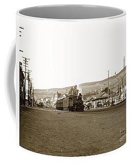 Berkeley California Train Station Circa 1902 Coffee Mug
