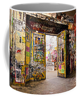 Berlin - The Kunsthaus Tacheles Coffee Mug by Luciano Mortula