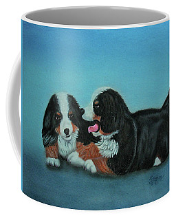 Bernese Mountain Puppies Coffee Mug