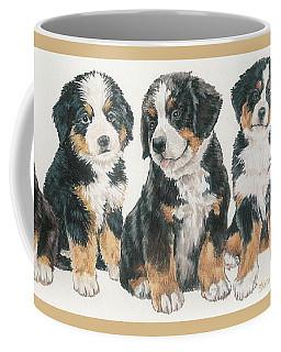 Bernese Mountain Dog Puppies Coffee Mug