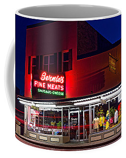 Bernies Neon Coffee Mug by James  Meyer