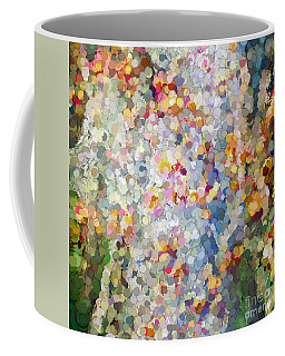 Berries Around The Tree - Abstract Art Coffee Mug by Kerri Farley