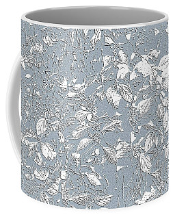 Berry Branch Blue Coffee Mug by Ellen O'Reilly