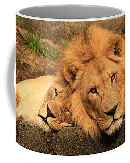 Best Friends For Life Coffee Mug by Laddie Halupa