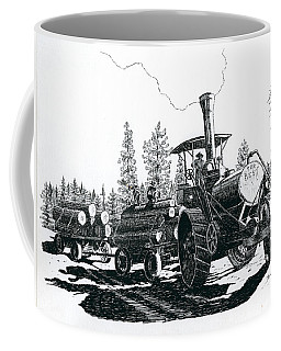 Best Steam Traction Engine Coffee Mug