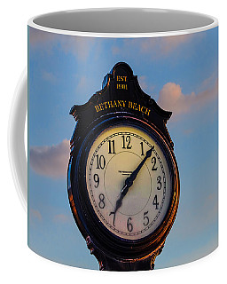 Bethany Beach Clock Coffee Mug