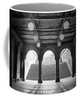 Bethesda Passage Central Park Coffee Mug by Dave Beckerman
