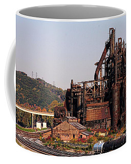 Bethlehem Steel # 8 Coffee Mug by Marcia Lee Jones