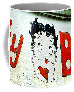 Betty Boop Herself Coffee Mug by Kathy Barney