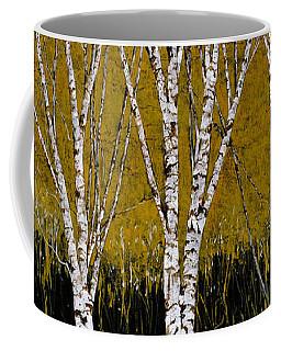 Betulle A Sfondo Giallo Coffee Mug
