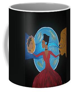 Between Dimensions Coffee Mug