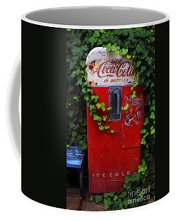Austin Texas - Coca Cola Vending Machine - Luther Fine Art Coffee Mug