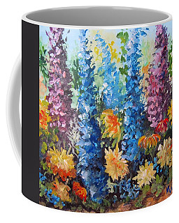 Bev's Garden Coffee Mug by Megan Walsh
