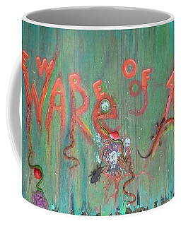 Beware Of Artist Coffee Mug