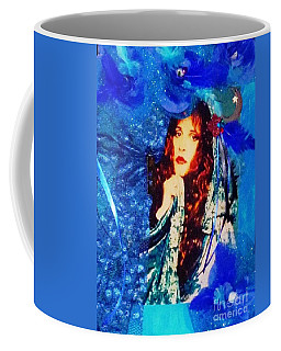 Bewitched In Blue Coffee Mug by Alys Caviness-Gober