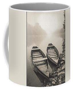 Beynac Boats Coffee Mug