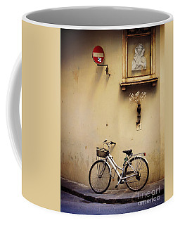 Bicycle And Madonna Coffee Mug