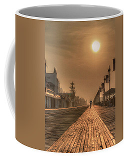 Bicycle Boardwalk Coffee Mug