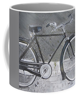Bicycle In Rome Coffee Mug