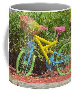 Bicycle Of Colors Coffee Mug