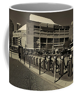 Bicycles On Bremner Coffee Mug by Nicky Jameson