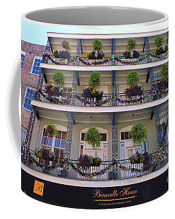 Bienville House Mardi Gras Decorations Coffee Mug by Bev Conover