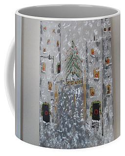 Big Apple Christmas Coffee Mug