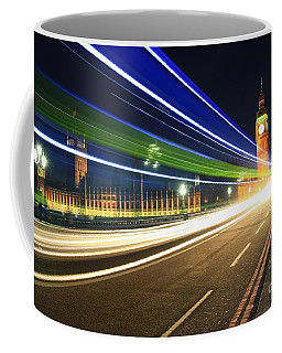 Big Ben And A Bus Coffee Mug