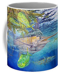 Big Blue Hunting In The Weeds Coffee Mug