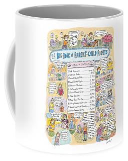 'big Book Of Parent-child Fights' Coffee Mug