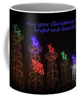 Big Bright Christmas Greeting  Coffee Mug
