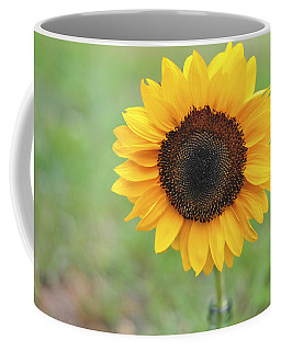 Big Bright Yellow Colorful Sunflower Art Print Coffee Mug