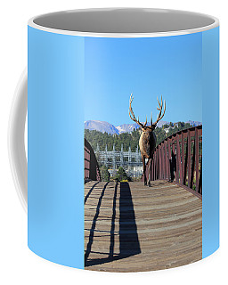 Big Bull On The Bridge Coffee Mug