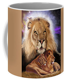 Third In The Big Cat Series - Lion Coffee Mug
