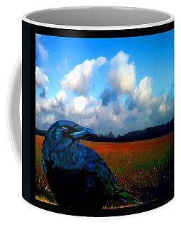 Big Daddy Crow Series Silent Watcher Coffee Mug