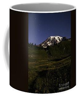Big Dipper Over Mt Rainier Coffee Mug