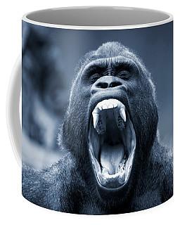 Big Gorilla Yawn Coffee Mug