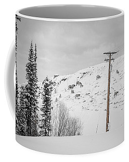 Big Horn Sheep Hinton Hillside Coffee Mug