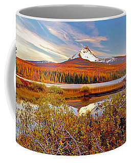 Big Lake And Mt Washington Oregon Coffee Mug