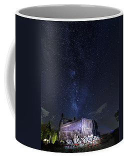 Big Muskie Bucket Milky Way And A Shooting Star Coffee Mug