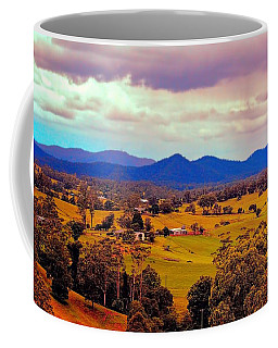 Coffee Mug featuring the photograph Big Sky Country by Wallaroo Images