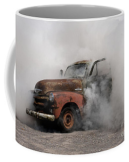 Big Smoking Truck Coffee Mug