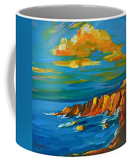 Big Sur At The West Coast Of California Coffee Mug