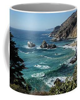 Big Sur Coast From Julia Pfeiffer Burns Coffee Mug by Suzanne Luft