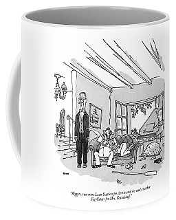 Biggers, Two More Luau Sizzlers For Annie Coffee Mug