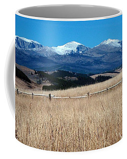 Bighorn Mountains Wy Coffee Mug