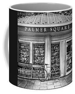Bike At Palmer Square Book Store In Princeton Coffee Mug