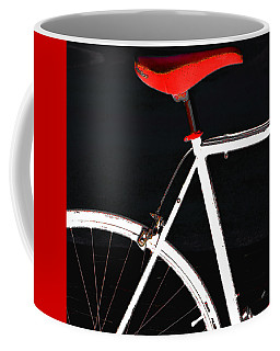 Bike In Black White And Red No 1 Coffee Mug