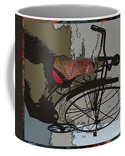 Bike Seat View Coffee Mug